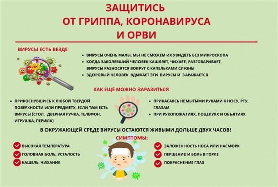 ЗАЩИТИСЬ от вирусной инфекции